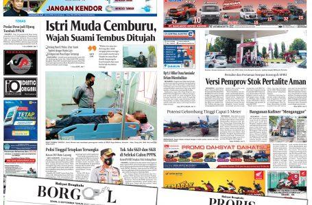 Rakyat Bengkulu 6 September 2021