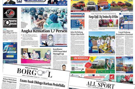 Rakyat Bengkulu 11 September 2021