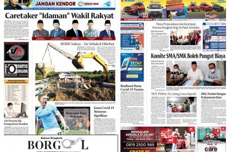 Rakyat Bengkulu 18 September 2021